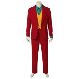 2019 Joker Joaquin Phoenix Arthur Fleck Cosplay Costume