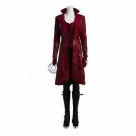 Captain America Civil War Scarlet Witch Wanda Maximoff Cosplay Costume