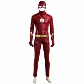 Barry Allen Suit The Flash Season 4 Cosplay Costume