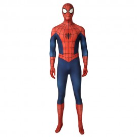 Peter Parker Suit Ultimate Spider-Man Season1 Cosplay Costumes