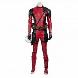 X-Men Deadpool Costume Wade Wilson Cosplay Suit