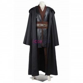 Anakin Skywalker Cosplay Costume Star Wars Black Cosplay Suit