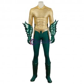 2018 Aquaman Cosplay Costume Arthur Curry King Suit