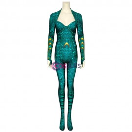 Aquaman Mera Costume Mera Cosplay Jumpsuit