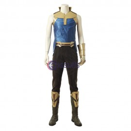 Avengers Infinity War Thanos Cosplay Costume With Infinity Gauntlet