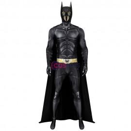 Batman Jumpsuit The Dark Knight Rises Bruce Wayne Cosplay Costume