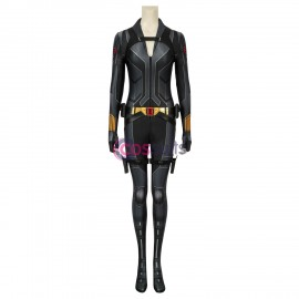 Black Widow Natasha Romanoff Black Cosplay Jumpsuit