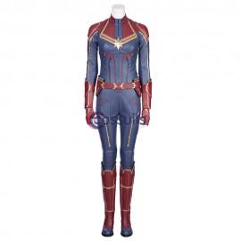 Captain Marvel Cosplay Costume Carol Danvers Jumpsuit For Woman
