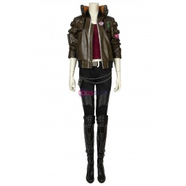 Cyberpunk 2077 Cosplay Costume Female Cosplay Suit With Boots