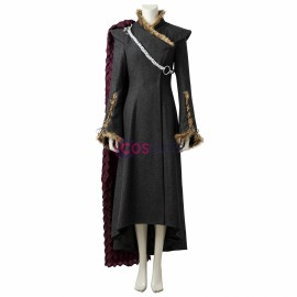 Daenerys Targaryen Cosplay Costume GOT Season 7 Plush Deluxe Edition