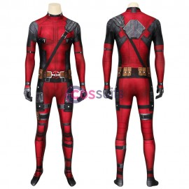 Deadpool Jumpsuit Deadpool Wade Wilson Cosplay Costume