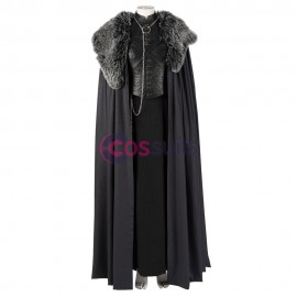 Game Of Thrones Sansa Stark Queen In The North Cosplay Costume