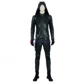 Green Arrow 8 Costume Green Arrow Oliver Queen Cosplay Suit
