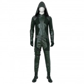 DC Green Arrow Season 8 Oliver Queen Cosplay Costume