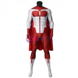 Invincible Omni-Man Costume Nolan Grayson Cosplay Suit