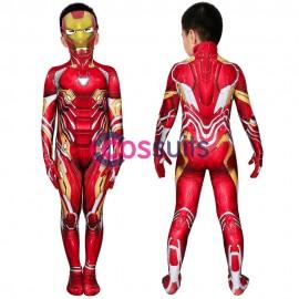 Iron Man Kids Costume Avengers Endgame Iron Man Tony Stark Nanotech Suit