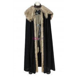 Jon Snow Stark Armor Cosplay Suit Game Of Thrones Season 8 Battle Costume