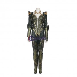 Justice League Mera Costume Cosplay Costume Suit