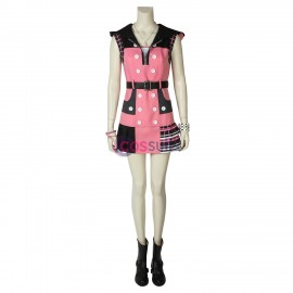 Kairi Cosplay Costume Kingdom Hearts 3 Pink Cosplay Suit