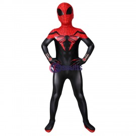 Kids Superior Spider-Man Suit Spiderman Cosplay Costume
