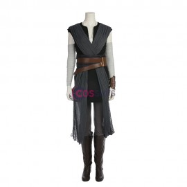 Rey Cosplay Costume Star Wars 8 The Last Jedi Cosplay Suit