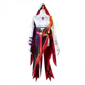 Rosaria Costume Game Genshin Impact Cosplay Outfit
