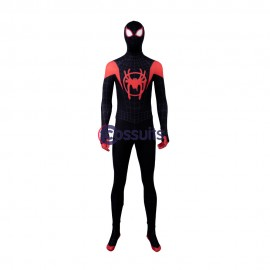Miles Morales Cosplay Costume Spider Man: Into the Spider Verse Jumpsuit