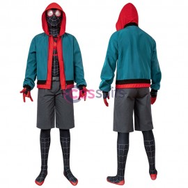 Spider-Man: Into the Spider-Verse Miles Morales Jumpsuit Cosplay Costume
