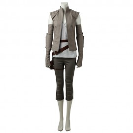 Star Wars The Last Jedi 8 Rey Cosplay Costume Suit