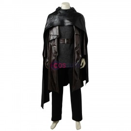 Star Wars  The Last Jedi Luke Skywalker Cosplay Costume With Boots