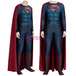 Superman Cosplay Costume Man of Steel Clark Kent Suits