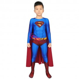 Superman Returns Costume Superman Clark Kent Cosplay Suit