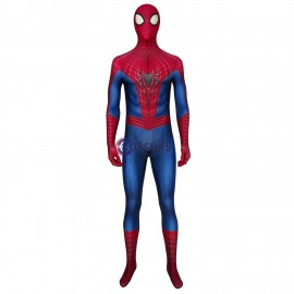 The Amazing Spiderman Peter Parke Jumpsuit Cosplay Costume