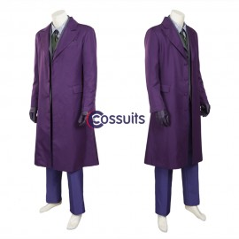 Batman Dark Knight Rise Joker Cosplay Costume Top Level