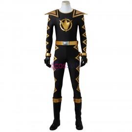 Tommy Oliver Cosplay Costume Power Rangers Dino Thunder Black Ranger Costume