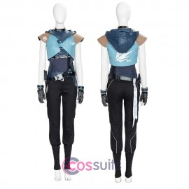 Valorant Jett Cosplay Costume Jett Cosplay Suit