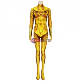 Wonder Woman 1984 Diana Prince Golden Cosplay Jumpsuit