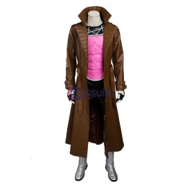 X-men Gambit Remy Etienne LeBeau Cosplay Costume